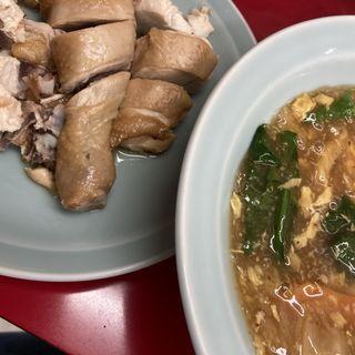 清蒸鶏(むしどり)