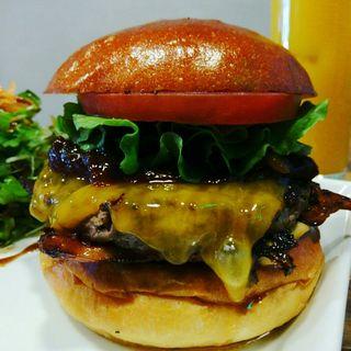 ウエスタンBBQバーガー(Craft Burger co. 堂島店)