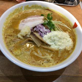味噌カレー担々麺 (限定)(麺 まぜたん)