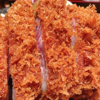 カタロースカツ定食(とんかつ檍 銀座店)
