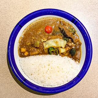 ミックス ビーフ+野菜(カリーライス専門店エチオピア 本店)
