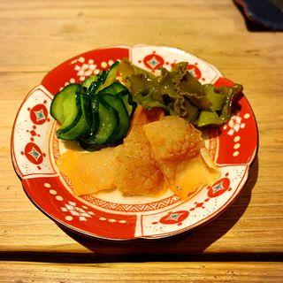 赤貝と新芽かぶの酢の物(創和堂-sowado-)