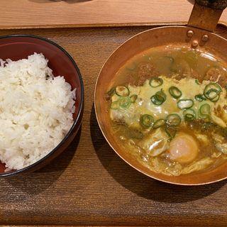 カレーチーズかつ丼(並シングル)(祭太鼓 大阪駅前第ニビル店 (まつりだいこ))