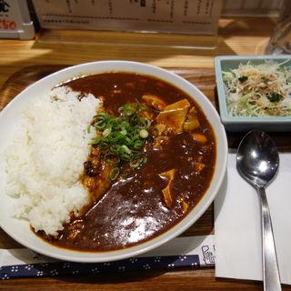麻婆豆腐カレー(食堂 うめぼし 大名店)