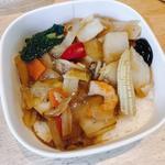 香ばし炒め野菜の中華丼