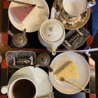 ケーキセット(くれない茶房 (クレナイサボウ))