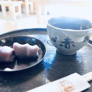 赤福餅 抹茶