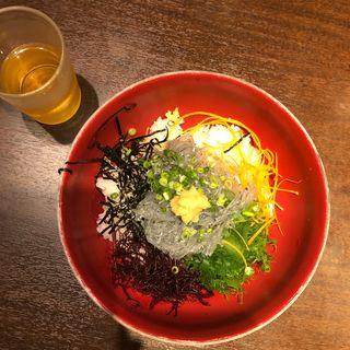 生しらす丼セット(磯料理 天海)