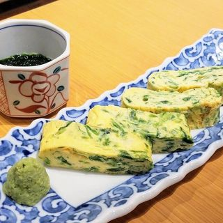 出汁巻き玉子(おかか 新宿)