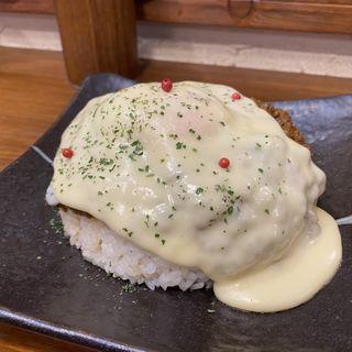 キーマカレー+チーズトッピング(ちぃりんご)