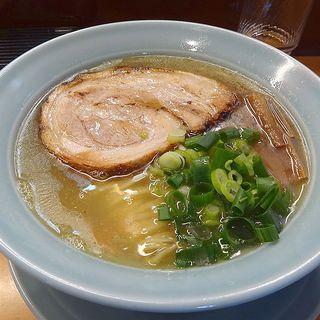 秋刀魚そば