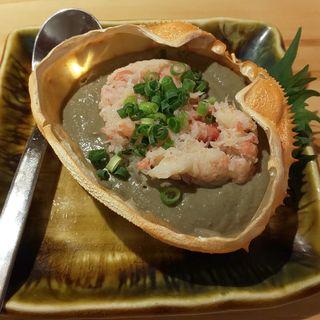かに味噌甲羅焼き(一宮グルメ横丁)