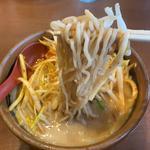 九州味噌の肉ネギらーめん(麺場 田所商店 本店)