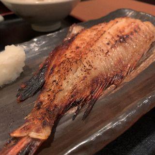 赤魚の西京焼き定食