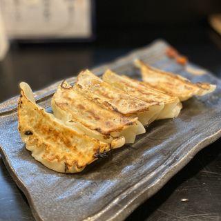 焼餃子三種盛(極旨、黒豚、海老)