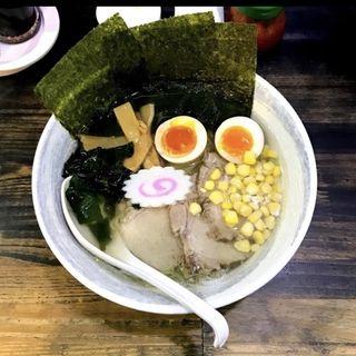 塩ラーメン(函館らーめん 汐星)
