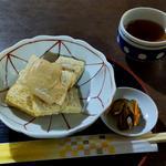 米粉くるみ餅