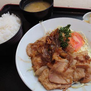 生姜焼き定食(たぐち )