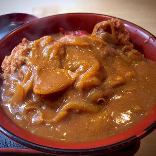 かつカレー丼(風笑り家 )