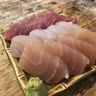 本日の刺身(川かみ鮮魚)