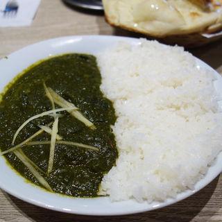 チキンサーグカレー(インド料理 フォーシーズン ミラン 六本松店)