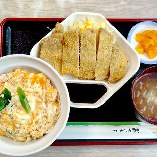かつ丼定食(萬盛庵 )