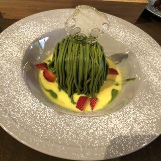 恋抹茶の10分モンブラン(菓子工房&sweets cafe KYOTO KEIZO)