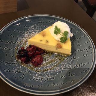 大人のチーズケーキ(菓子工房&sweets cafe KYOTO KEIZO)