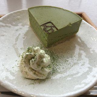 抹茶チーズケーキ(京はやしや 京都三条店)