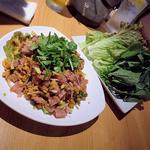 ネームクック(野菜たっぷりの自家製ソーセージのサラダ)
