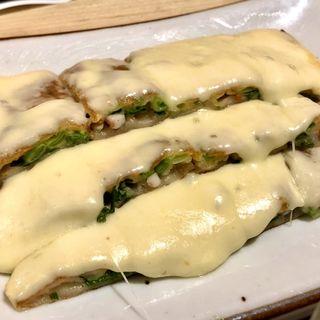 チーズチヂミ(チゲ料理&韓国鉄板 HIRAKU)
