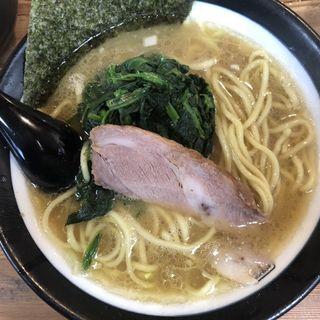 太麺野菜三点盛り