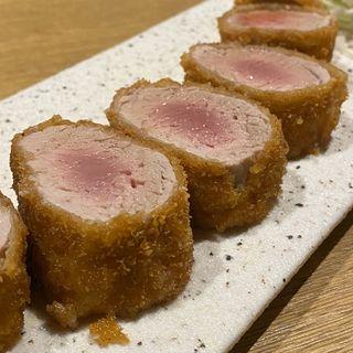 ヒレ肉1本カツ 出汁おろしで(豚都)