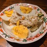 玉子のせポテトサラダ