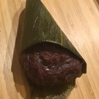 """ささ餅(志""""満ん草餅 (じまんくさもち))"""