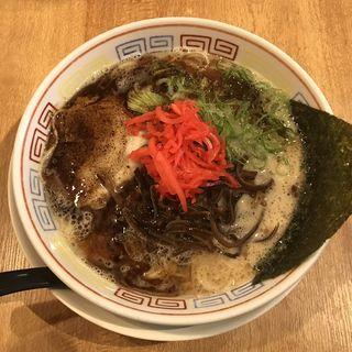 黒ラーメン(つけ麺 中華そば 節 (旧店名:柳屋))