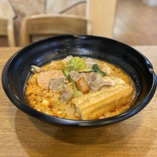 麻辣湯(1辛)(楊国福 名古屋店)