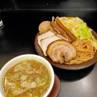 かみなりあえつけ麺(+温野菜トッピング)