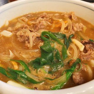 カレーうどん(牛肉)