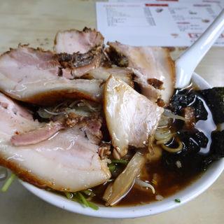 チャーシューワンタン麺