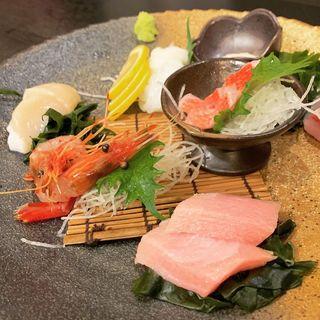 刺身5点盛り(魚や藤海)