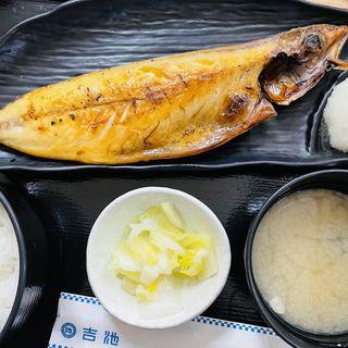 焼き魚定食(吉池食堂)