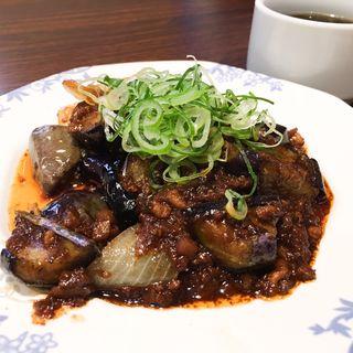 茄子と豚ひき肉のピリ辛炒め(バーミヤン 西宮今津店 )