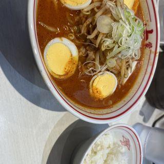 味噌卵麺(蒙古タンメン中本 秋津店 (もうこたんめんなかもと))