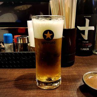 生ビール(霧島地鶏 きばいやんせ (きりしまじどり きばいやんせ))