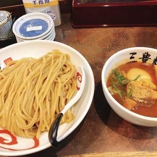特製濃厚魚介つけ麺(三豊麺 十三店 (サンホウメン))