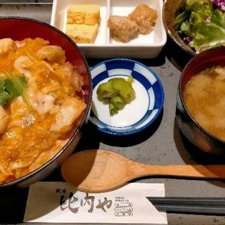伊達鶏の親子丼(銀座 比内や 本店 (ぎんざひないや))
