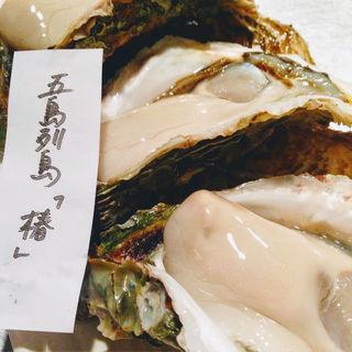 真牡蠣 長崎県五島列島(地下の粋 )
