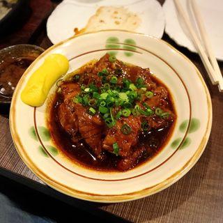 黒豚バラ軟骨煮込み(霧島地鶏 きばいやんせ (きりしまじどり きばいやんせ))