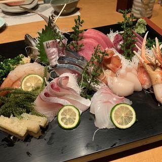 刺身盛(すし処魚しん )
